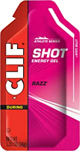 CLIF Rasberry (Razz) Shot Energy Gel 24 x 34g