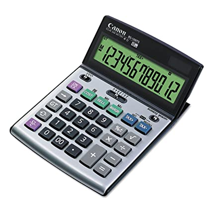 Review Canon BS-1200TS Desktop Calculator,