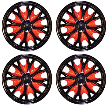 UKB4C Set 4 Wheel Trims Hub Caps 15 Covers fits Peugeot Partner 207 308 306 605