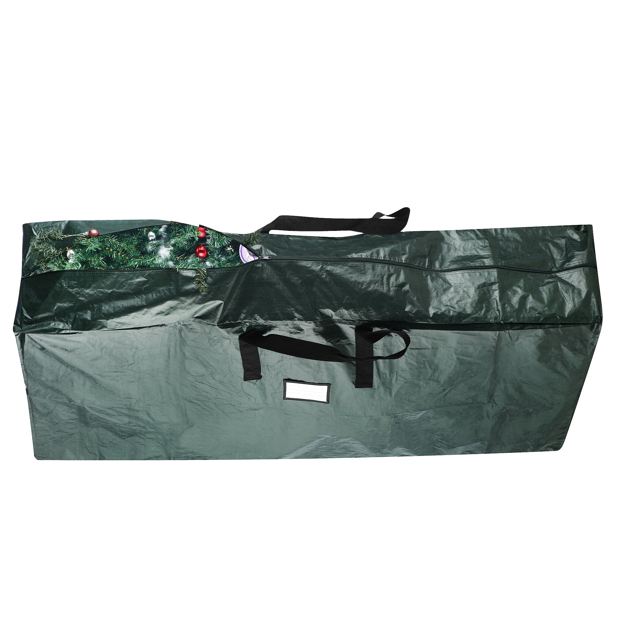 Elf Stor Premium Green Christmas Tree Bag Holiday Extra Large for up to 9' Tree Storage by Elf Stor (Image #5)