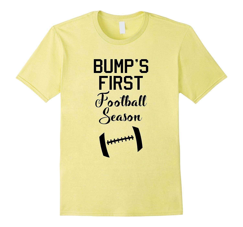 Baby Bump's First Football Season Maternity T-Shirt-T-Shirt