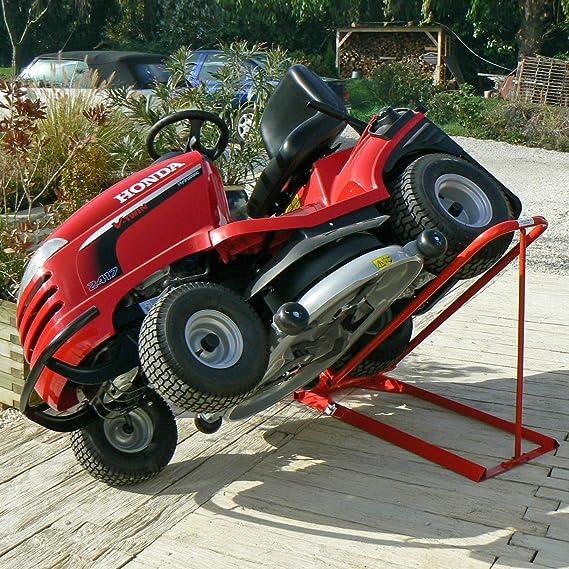 Oregon - Elevador hidráulico para tractor cortacésped ...
