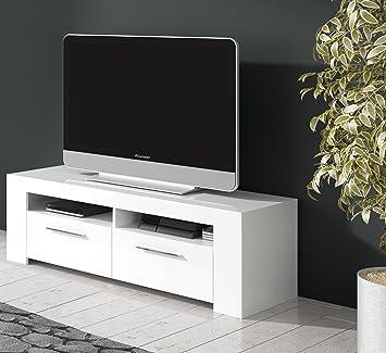 Mobelcenter - Mueble de comedor moderno, color Blanco - 120 cm de ancho x  42 cm de profundidad x 40 cm de altura - 0680