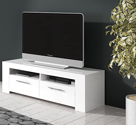 Mobelcenter - Mueble de comedor moderno, color Blanco - 120 cm de ...
