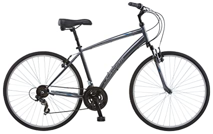 f30cf15fa75 Image Unavailable. Image not available for. Color: Schwinn Network 1.0 700c  Men's 18 Hybrid Bike ...