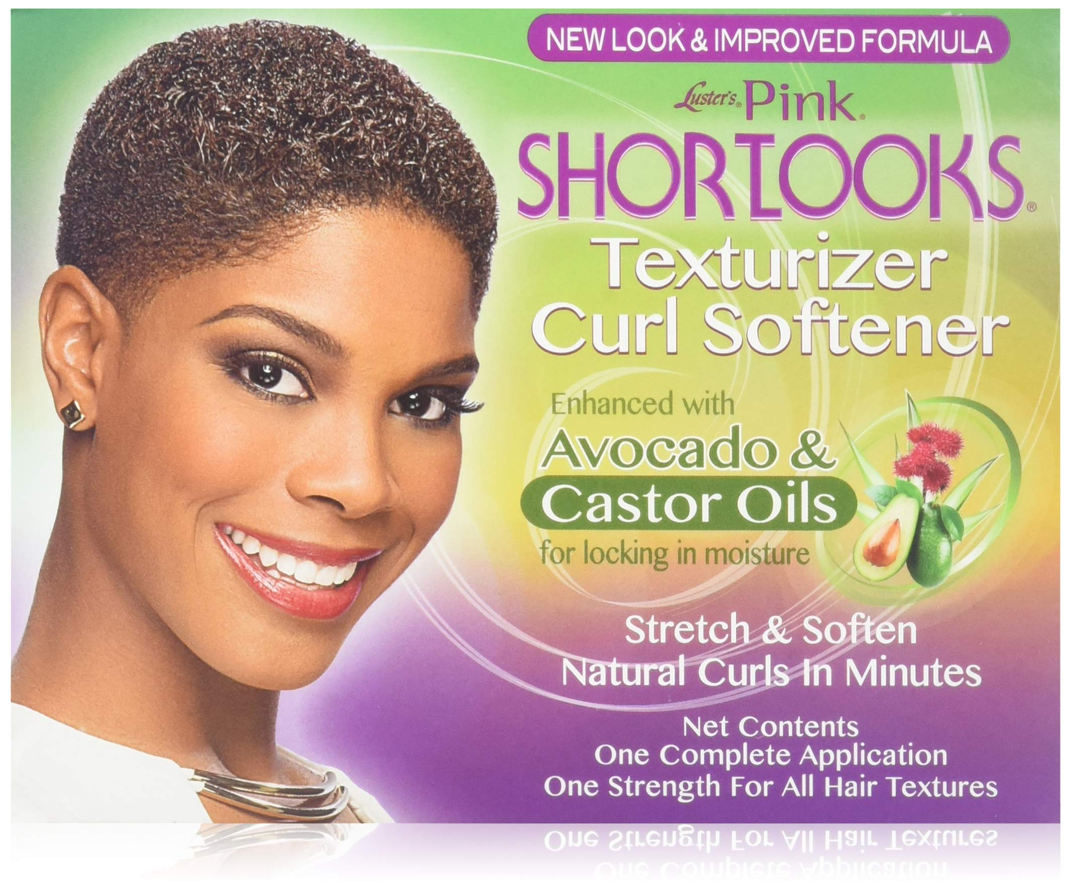 Shortlooks Luster's Pink Short Looks No-lye Texturizer Kit 3 Pack