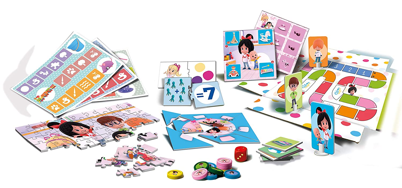 Amazon.com: Clementoni – Educacion Children Cleo and cuquin, Multicoloured (55246): Toys & Games