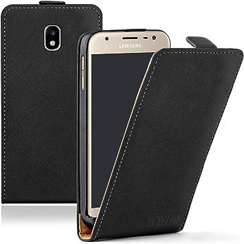 Membrane - Ultra Slim Negro Funda Compatible con Samsung Galaxy J3 2017 / J3 2017 Duos: Amazon.es: Electrónica