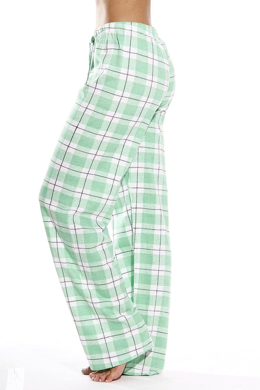 Just Love 100/% Cotton Jersey Women Plaid Pajama Pants Sleepwear