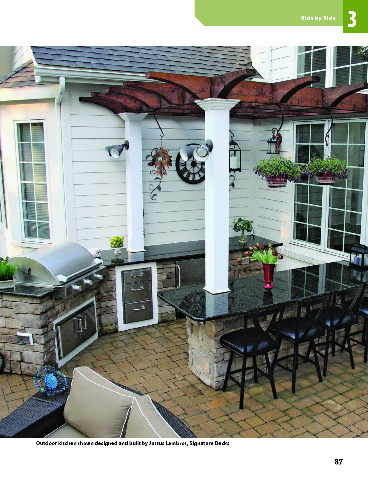 building outdoor kitchens for every bud home improvement