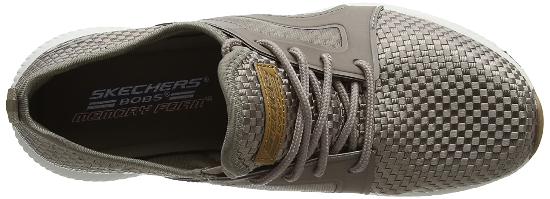 Skechers Damen Bobs Sport Insta Cool Sneaker, Beige (Taupe