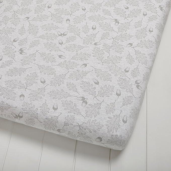 El Little Sheep Verde tramo S/ábana ajustable algod/ón org/ánico 60 x 120 cm