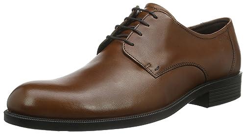 28275ad7718 ECCO Men s Harold Plain Toe Tie Oxford