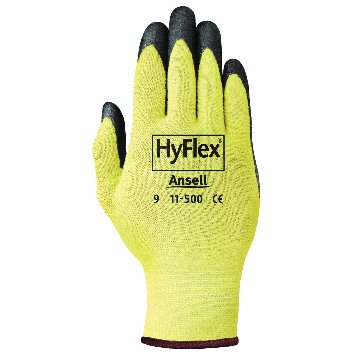 Ansell 11-500-8 Coated Glove, Medium, Foam Nitrile