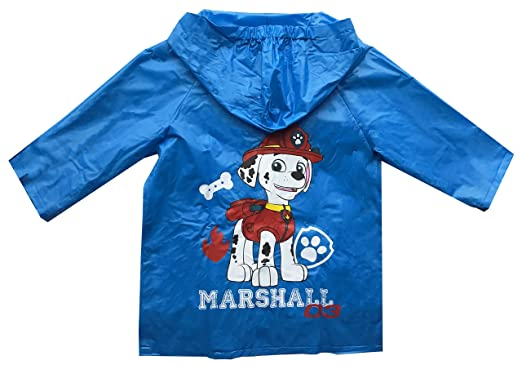 968ab45a8970 Paw Patrol Raincoat Marshall Boys Girls  Amazon.co.uk  Clothing
