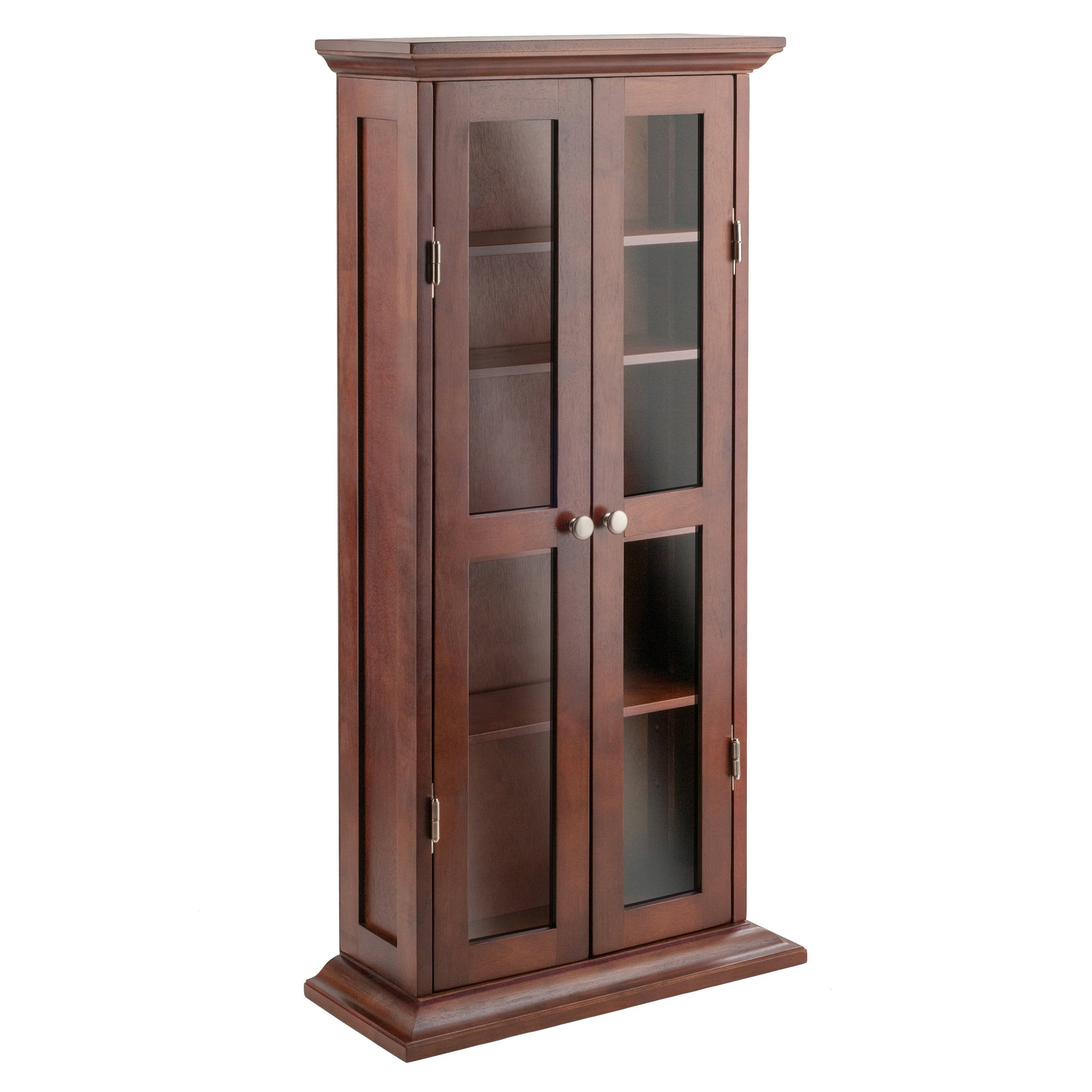 Winsome Wood 94944 Holden Media/Entertainment, Antique Walnut by Winsome Wood