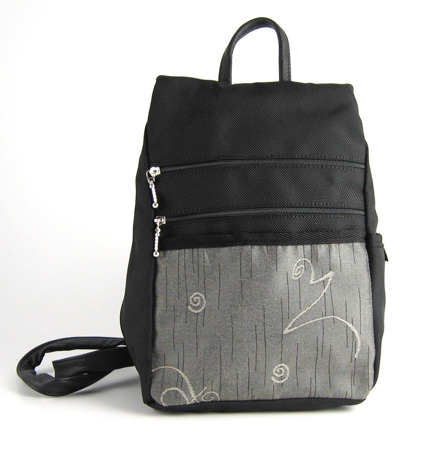 Backpack Purse by GreatBags   Small Black Womens + Lightweight + Stylish + Durable