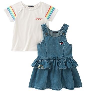 3daf0e65e Amazon.com: Tommy Hilfiger Girls' Toddler Jumper Set: Clothing