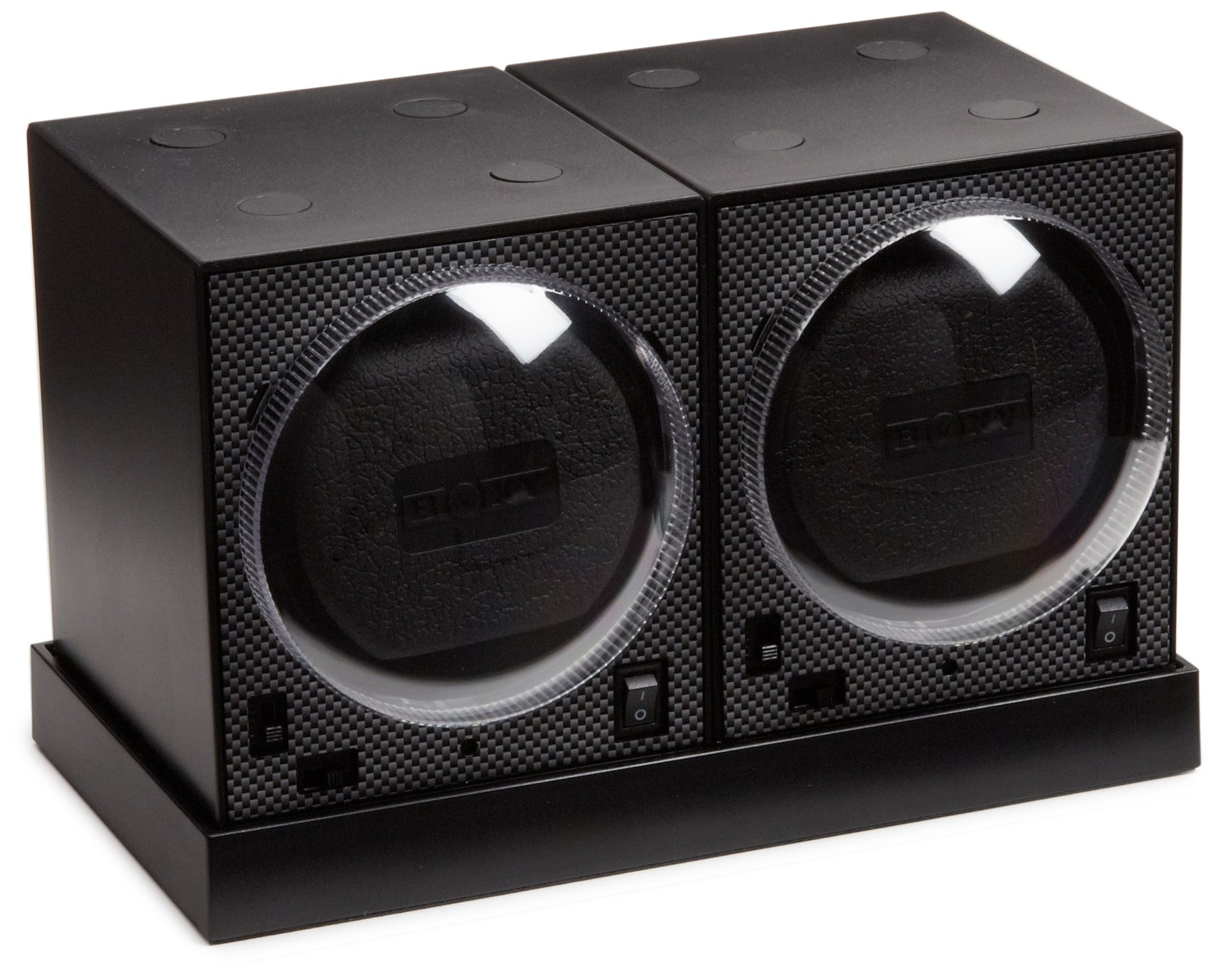 Diplomat 31-403-02S Boxy Double Power Station Watch Winder