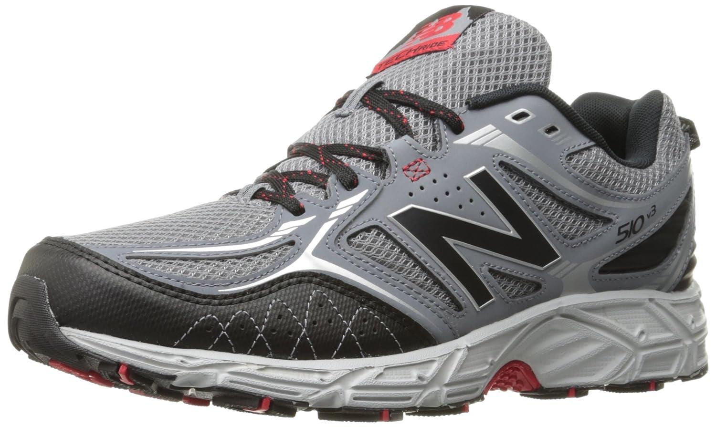 New Balance Men's 510v3 Trail Running Shoe B01LYA9FZ1 8.5 4E US Gunmetal/Black