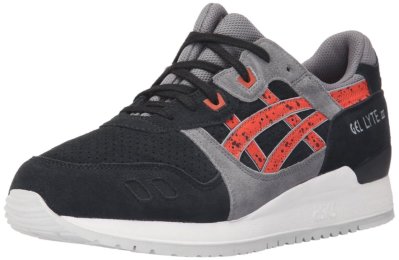ASICS Men's GEL-Lyte III Retro Sneaker B00ZQ9ICK0 4.5 M US|Black/Chili