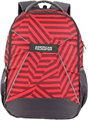 American Tourister 32.5 Ltrs Red Casual Backpack (AMT Mist SCH BAG03 RED)