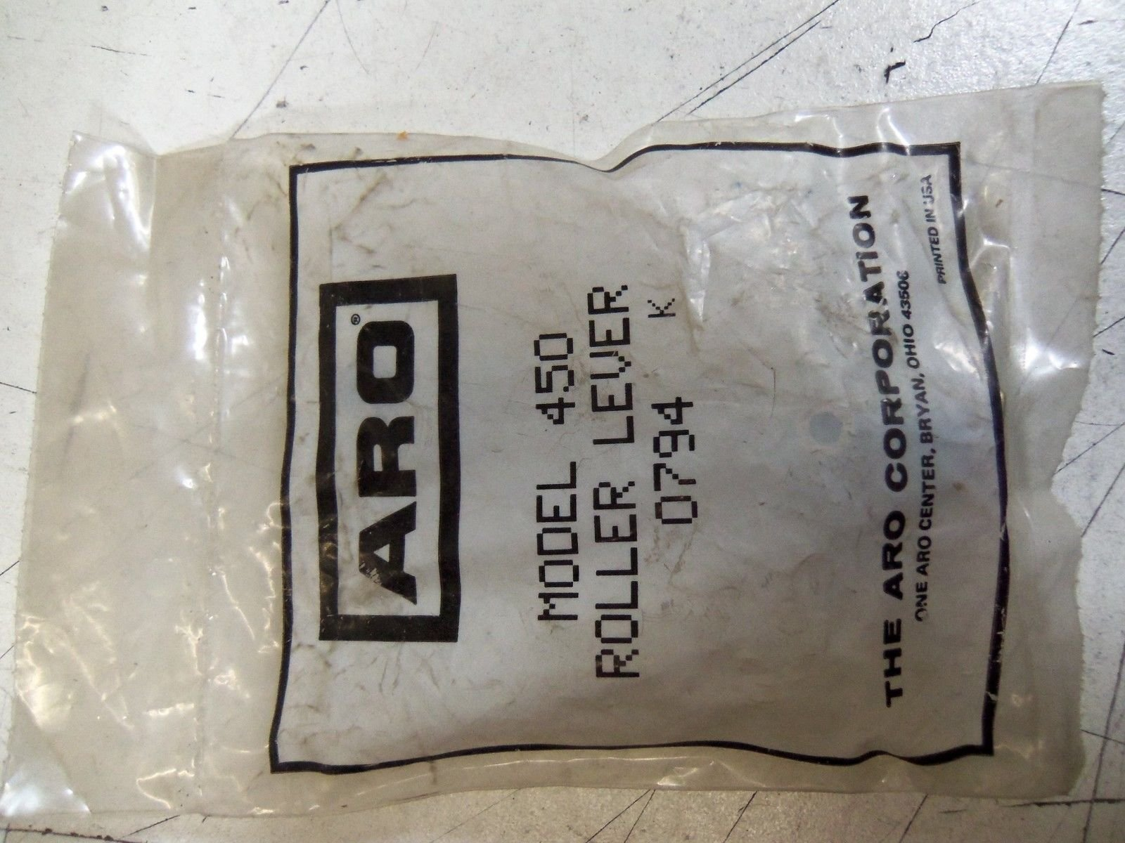ARO 450 ROLLER LEVER 0794 *NEW OUT OF BOX*