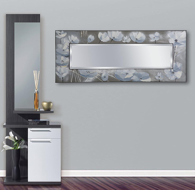 Mauro ferretti specchio da muro flowny, 150 x 3.8 x 60 cm ...