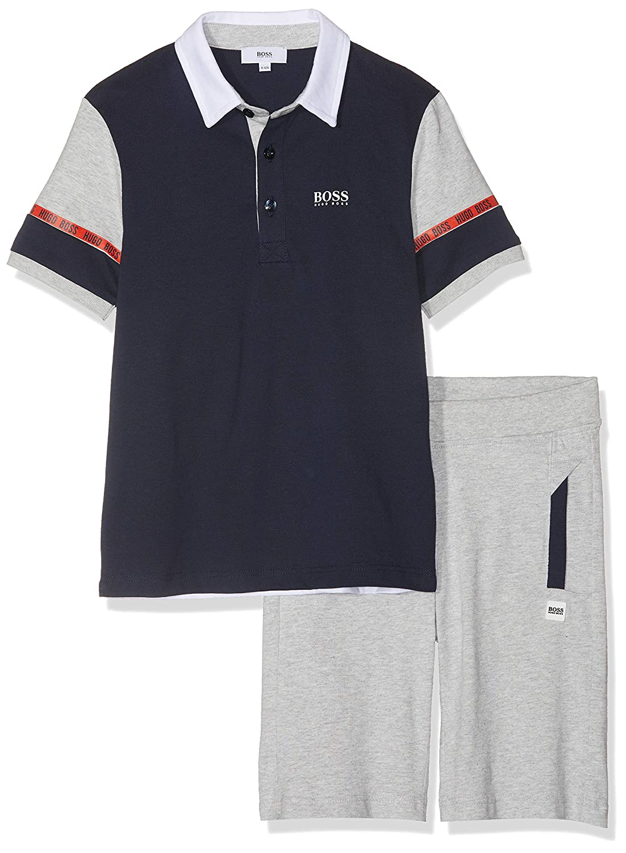 BOSS Boys Ens.Polo+Bermuda Clothing Set