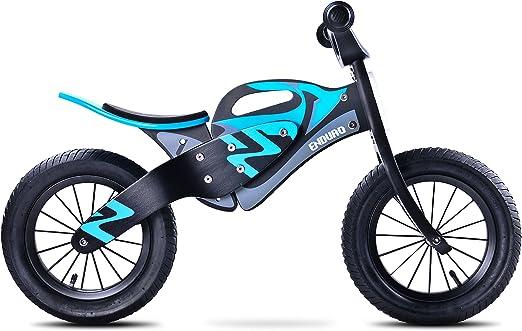 Caretero Toyz Enduro Bicicleta De Madera Sin Pedales, Ruedas ...