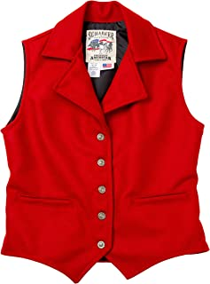product image for Schaefer Ranchwear - 805 Cattle Baron Vest (XL, Red)