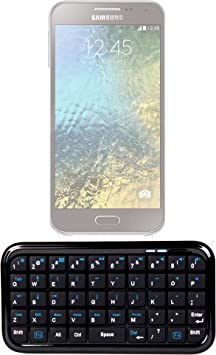 Mini teclado inalámbrico Bluetooth para Smartphone Samsung Galaxy, E7, E5 Xiaomi Redmi Note 2, Max y Grand ZTE X Nubia Z7-Portátil y práctico: Amazon.es: Electrónica