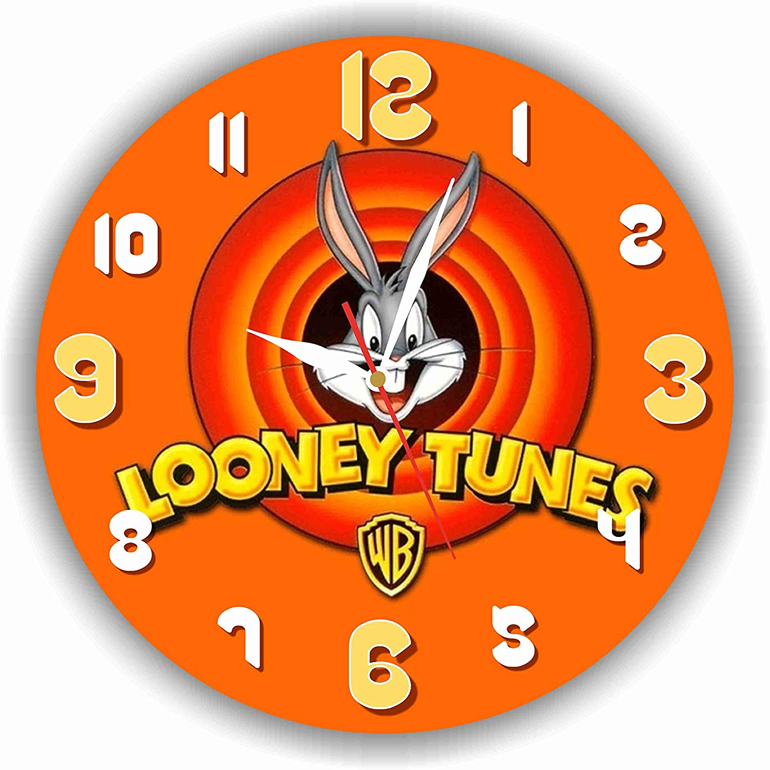 Art time production Looney Tunes 11'' Handmade Wall Clock - Get Unique décor for Home or Office – Best Gift Ideas for Kids, Friends, Parents and Your Soul Mates