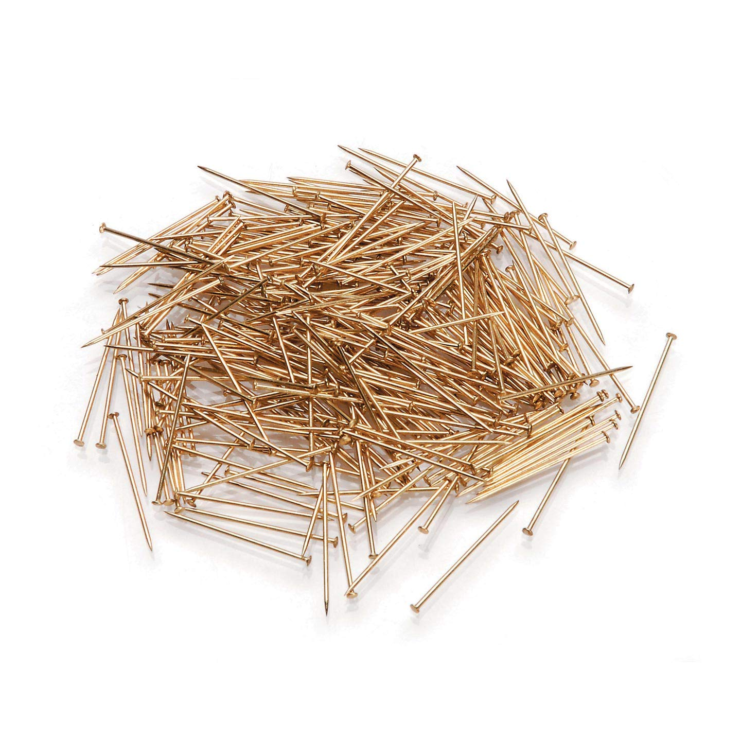 Bulk Buy: Darice DIY Crafts Sequin Pins #12 Gold 3/4 inches 300 pieces (12-Pack) 38042 Inc.