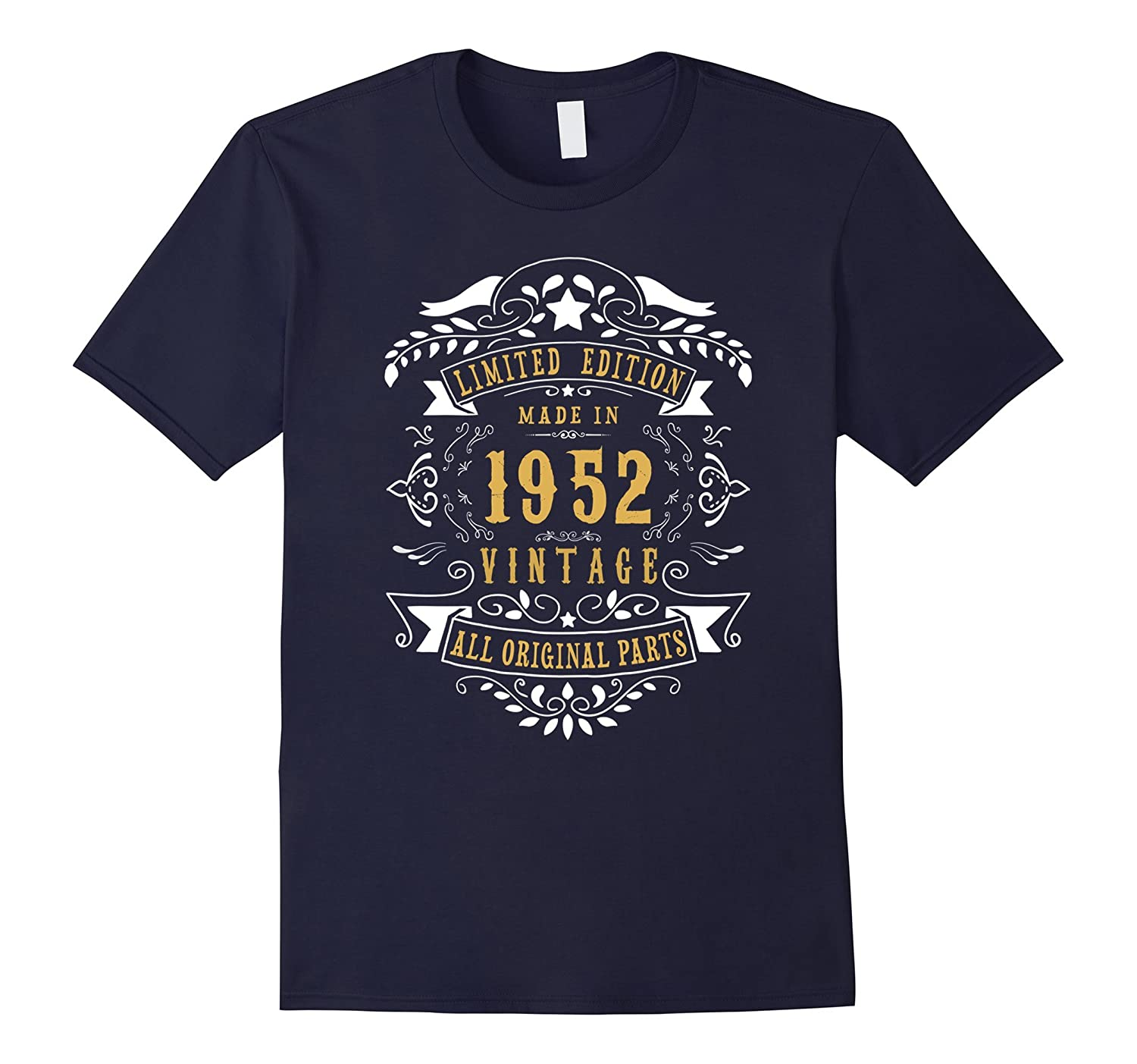 65 years old Made Birth 1952 65th Birthday Bday Gift T-Shirt-PL