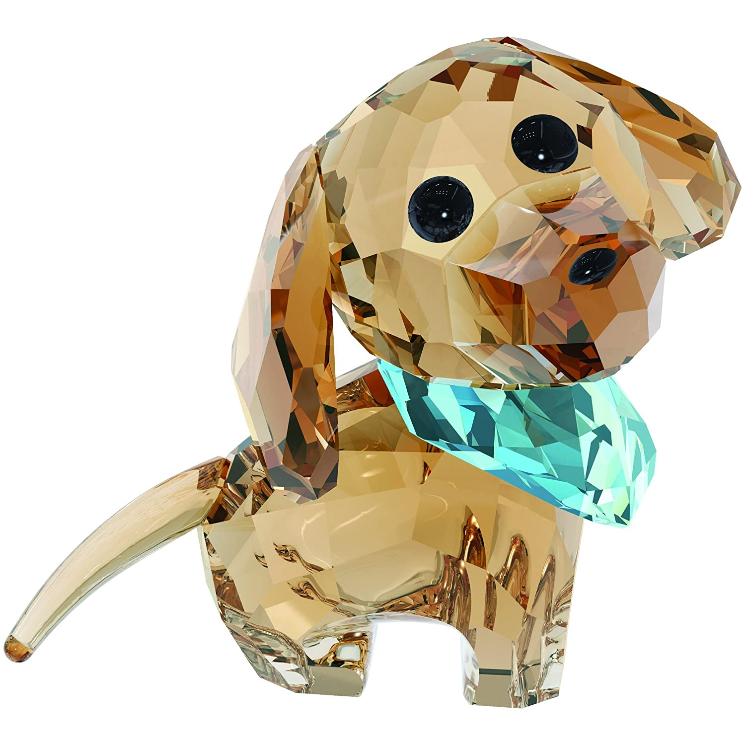 Swarovski Puppy Figurine, Milo The Dachshund