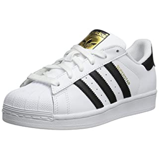 adidas Originals Kid's Unisex Superstar  White/Black/White 5