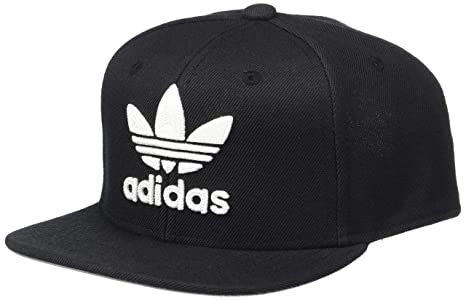 8d40c5388b4 Amazon.com  adidas Boys   Youth Originals Trefoil Chain Snapback Cap ...