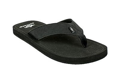 bd27dcfcad02 Dockers Men s Kenneth Denim Casual Flip Flop Sandal (Medium   9-10 D(