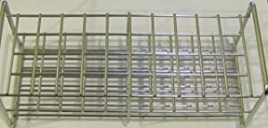 Stainless Steel Wire Wireframe Test Tube Rack, 50 Tubes 22mm