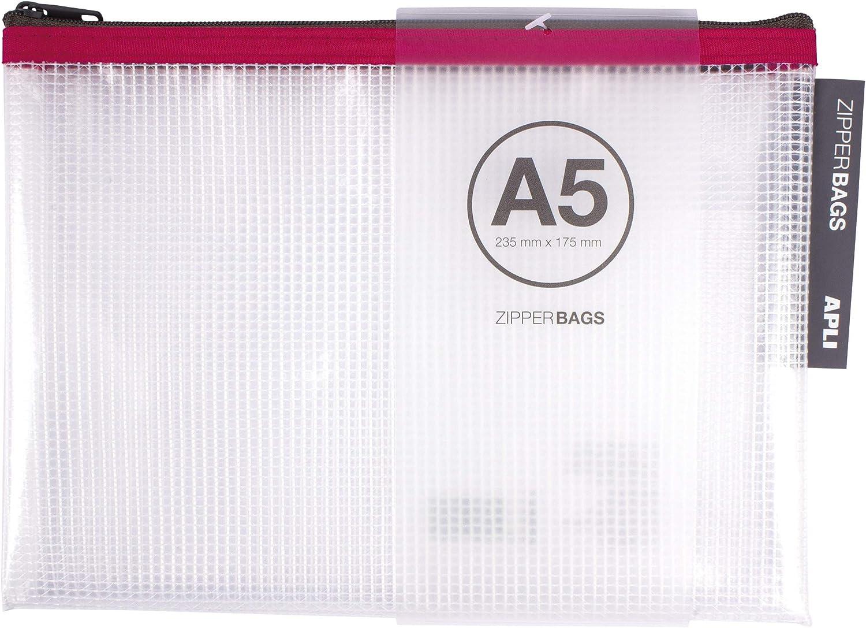 APLI 17384 - Bolsa Zipper Bag A5