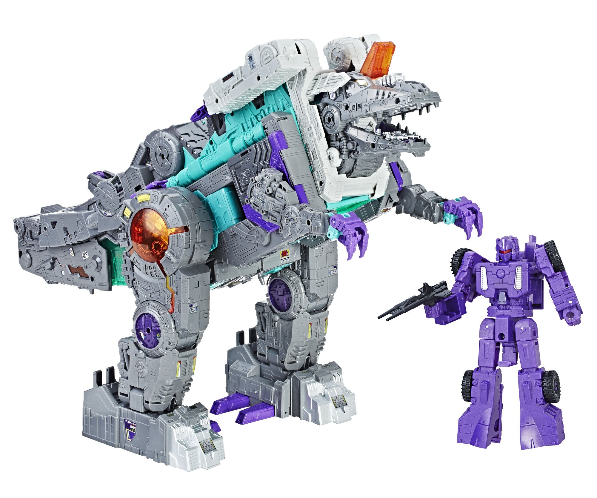 Transformers Generations Titans Return Titan Class Trypticon by Transformers (Image #4)
