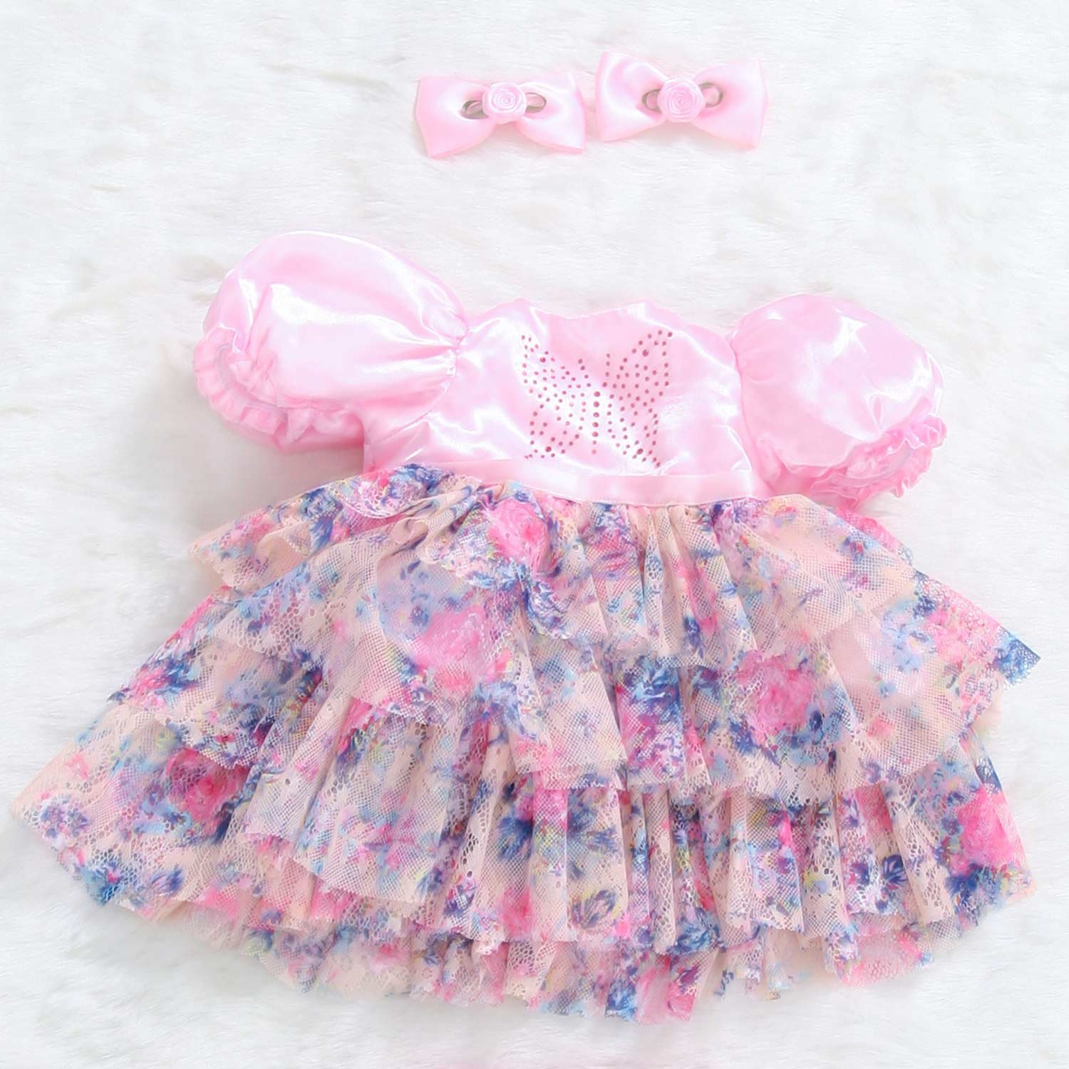 Pursue Baby 24 Inch Reborn Toddler Dolls Dancing Butterfly Outfit   B07DFKFMTS