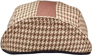 product image for Tan Houndstooth Wool 3-Panel