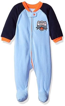7998dce1c Amazon.com  The Children s Place Boys  Long Sleeve One-Piece Pajamas ...