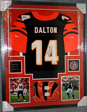 andy dalton signed jersey