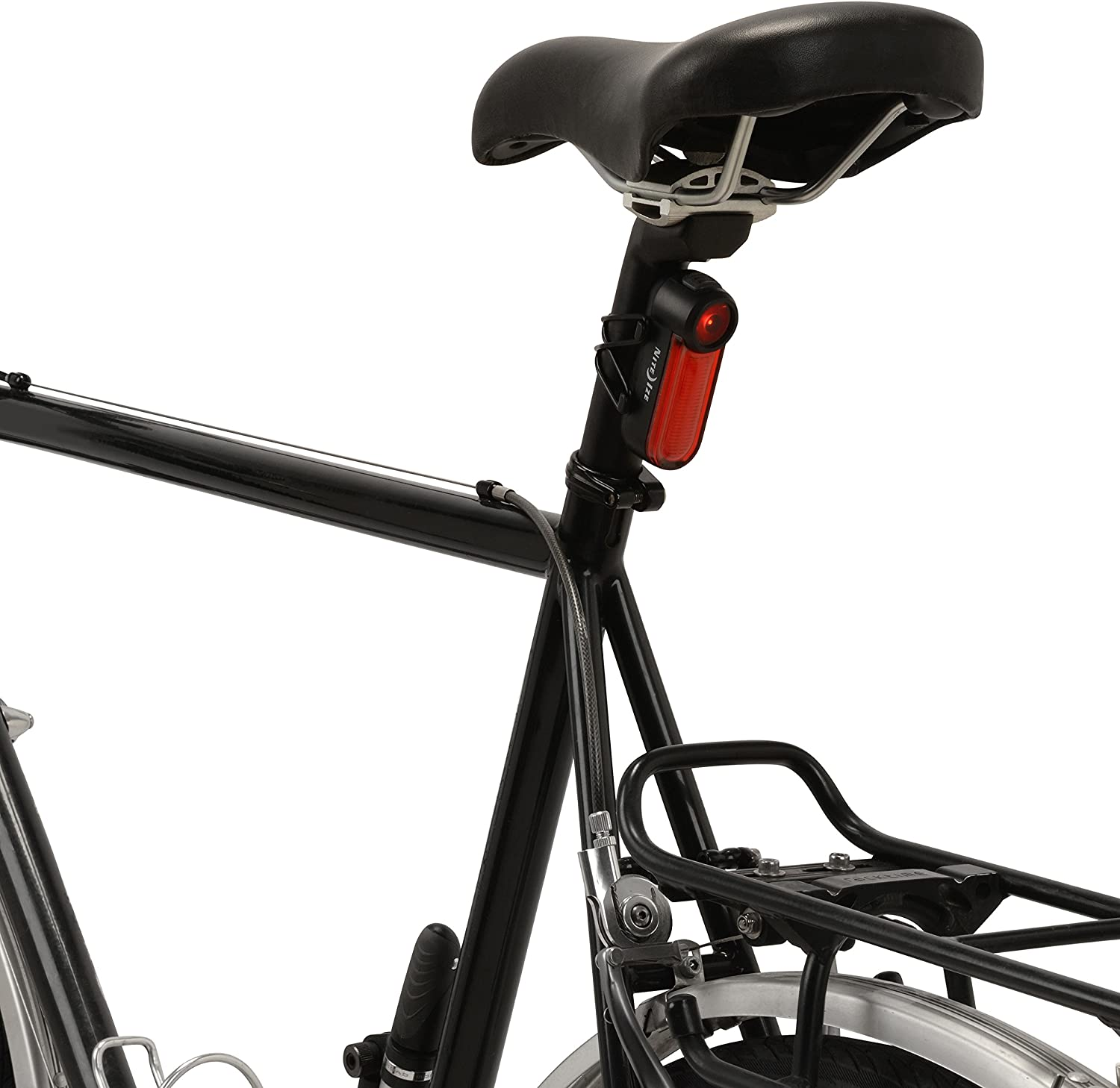 NITE IZE Red Radiant 125 Rechargeable Bike Light
