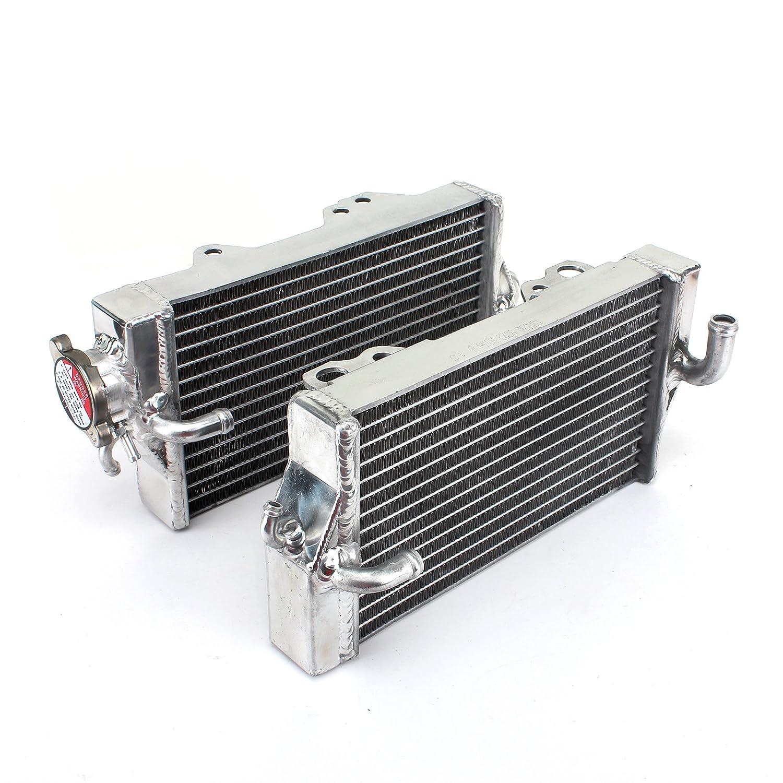 TARAZON Aluminium Radiator Wasserk/ühler K/ühler passende CR125R CR 125 R 2002 2003 02 03