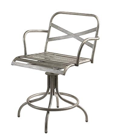 Stupendous Amazon Com French Heritage Trestle Desk Chair Antique Iron Uwap Interior Chair Design Uwaporg