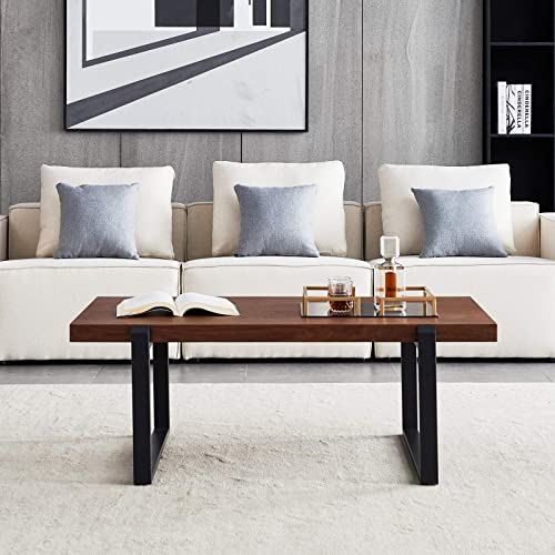 Wood Coffee Table Modern End Table